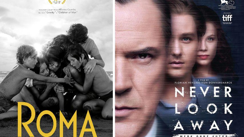 """Collage: Filmplakate von """"Roma"""" und von """"Werk ohne Autor"""""""