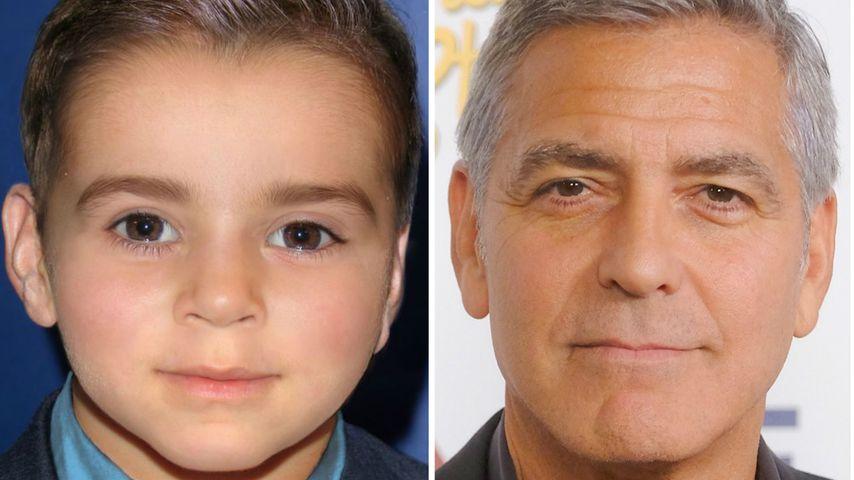 Das (l.) könnte George Clooneys (r.) Sohn sein