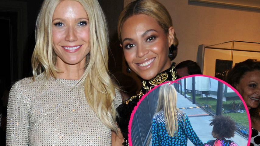 Süße BFFs: Töchter von Beyoncé & Gwyneth halten Händchen!