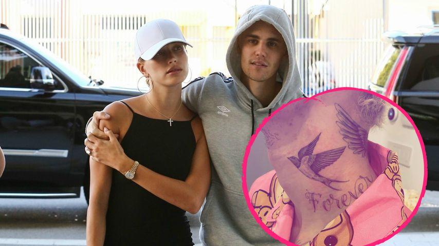 """Für Ehefrau Hailey? Justin Bieber hat neues """"Forever""""-Tattoo"""