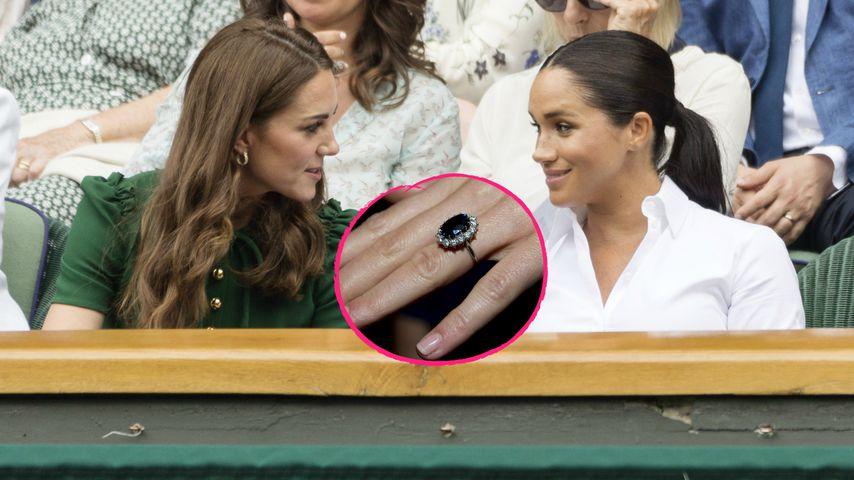 Herzogin Kates Verlobungsring gebührte eigentlich Meghan!