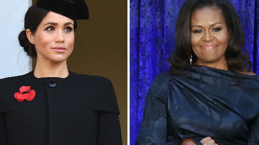 Frauen-Meeting: Herzogin Meghan traf heimlich Michelle Obama