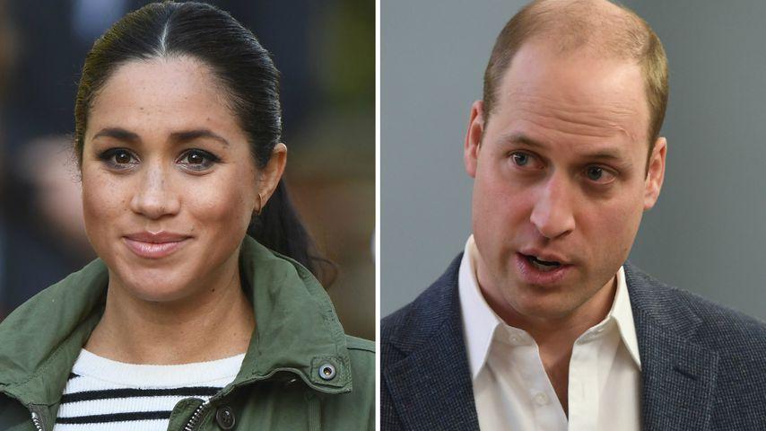 Dianas Butler: Meghans Glam-Babyparty erzürnt Prinz William
