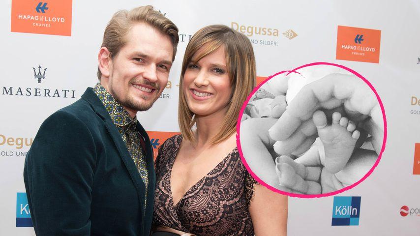 Mit Jens im Kreißsaal: Isabell Horn bringt Tochter zur Welt!