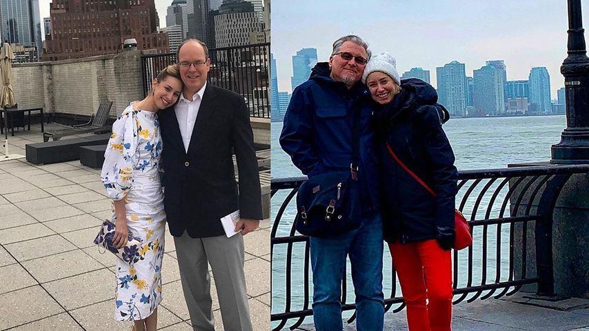Fürst Alberts uneheliche Tochter dankt ihren zwei Vätern!