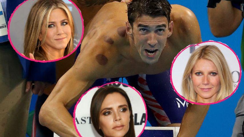 Was haben Jen Aniston & Co. mit Schwimmer Phelps gemeinsam?