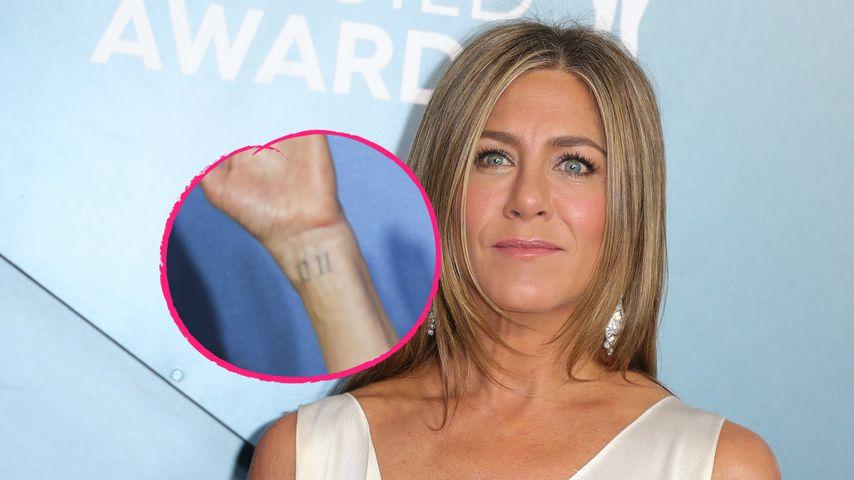 "Jennifer Anistons ""11 11""-Tattoo hat emotionale Bedeutung!"