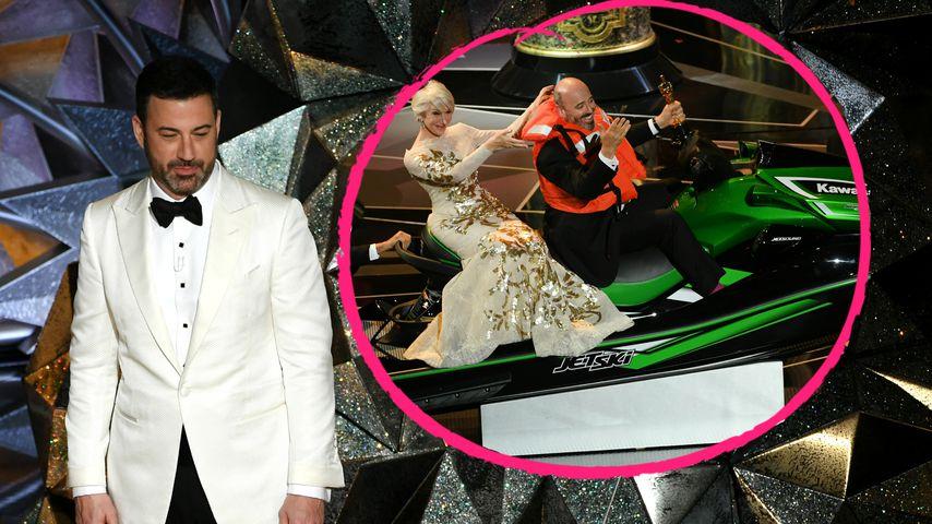 Für kürzeste Rede: Jimmy Kimmel verschenkt Jetski bei Oscars