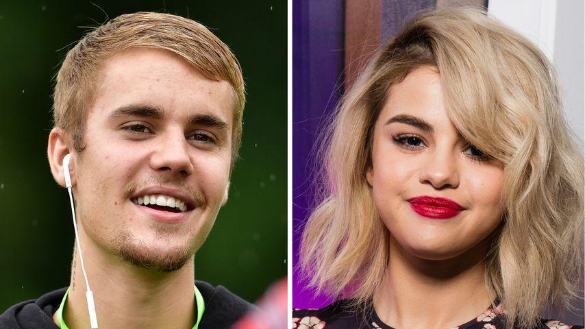 Sweet am Pool: Justin & Sel genießen Pre-Valentinstag-Date!