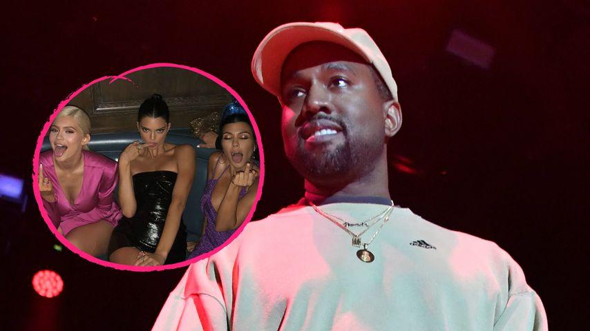Geheime Fantasie? Kanye rappt über Sex mit Kims Schwestern!