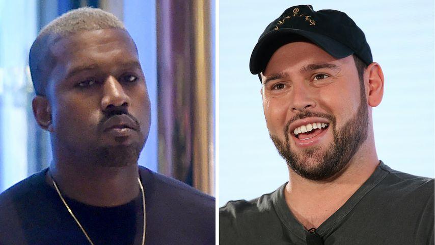Kanye West: Nach Jahren Trennung von Manager Scooter Braun!