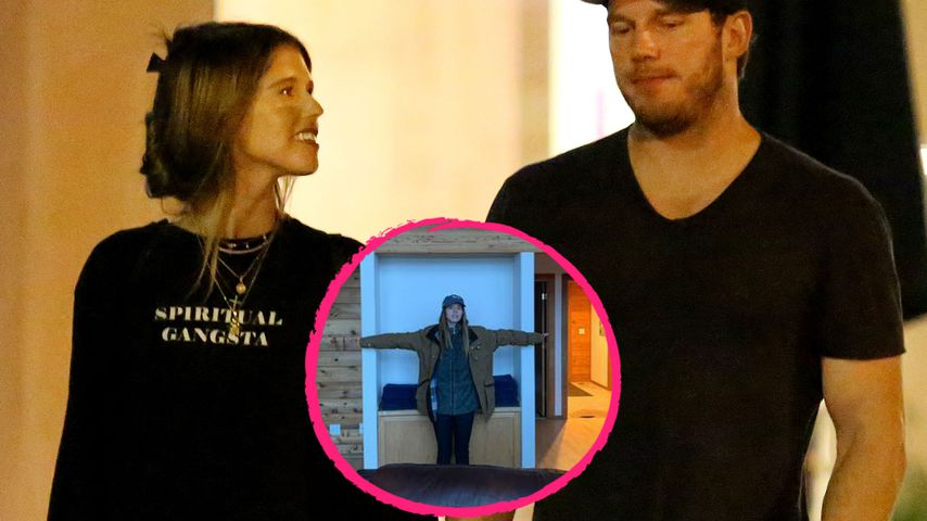 Kein Maßband da: So messen Chris Pratt & Katherine Haus aus