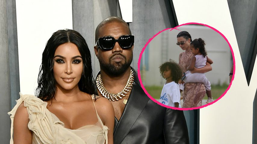 Neue Fotos: Kim und Kanye kehren von Versöhnungsreise zurück