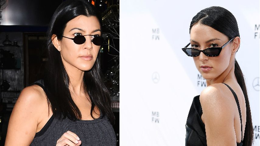 Kourtney-Double? Rebecca Mir begeistert im Kardashian-Look!