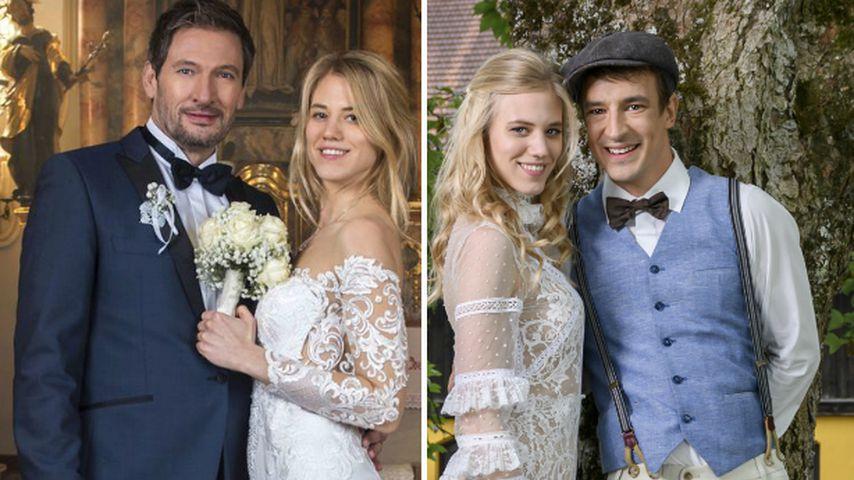 Zweite SdL-Hochzeit für Larissa Marolt: Welche war schöner?