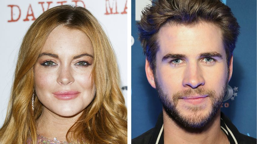 Lindsay Lohan flirtet mit Neu-Single Liam Hemsworth!