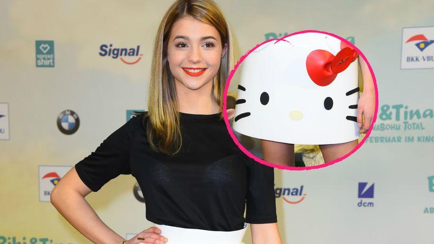 "Mieze auf dem roten Teppich: ""Bibi & Tina""-Star trägt Katze!"