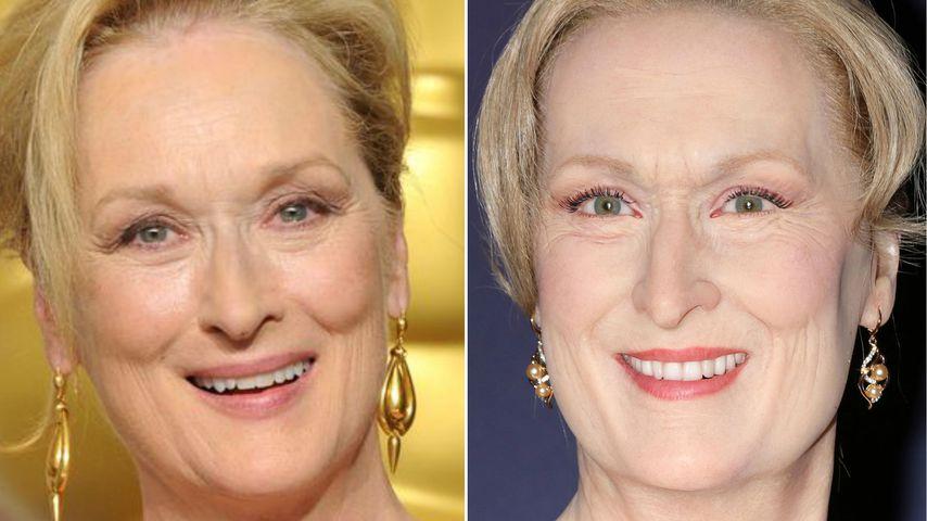 Schaurige Wachsfigur! Das soll wirklich Meryl Streep sein?