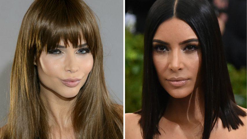 """""""Hinterfotzig"""": Micaela schockiert über Kim K.s Cellulite!"""
