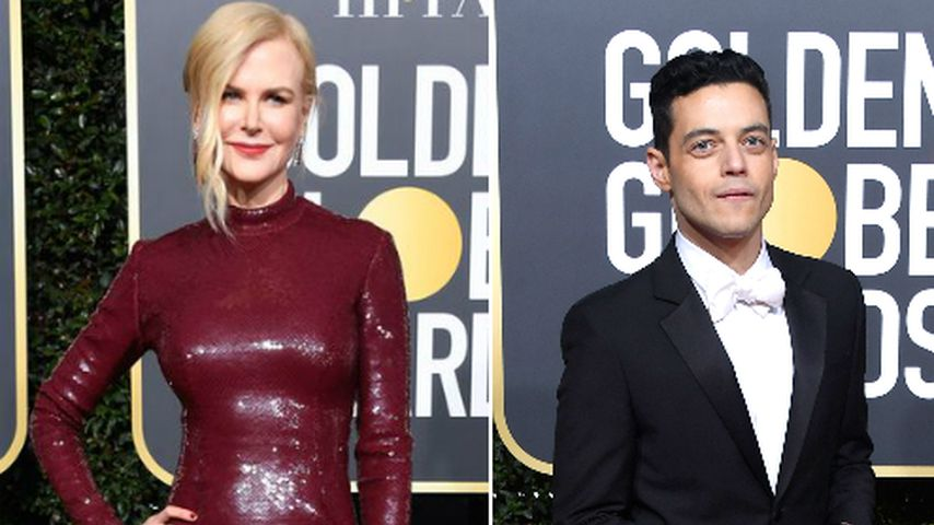 Golden Globes-Viral-Hit: Nicole Kidman ignorierte Rami Malek