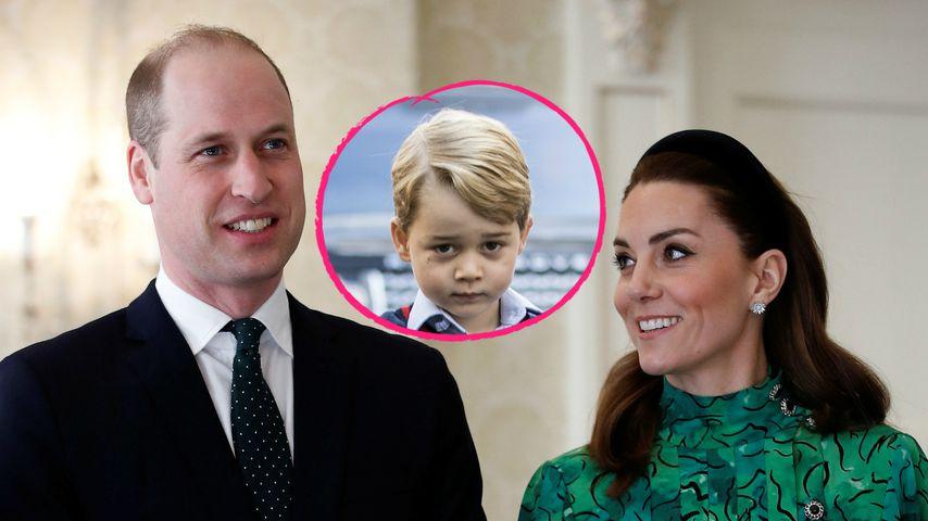 Für George: Brechen William und Kate mit royaler Schulregel?