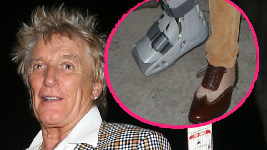 Rod Stewart (73) bricht sich beim Fußballspielen den Fuß