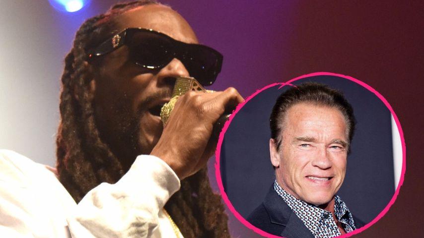 """""""H*rensohn"""": Snoop Dogg beschimpft Arnold Schwarzenegger!"""