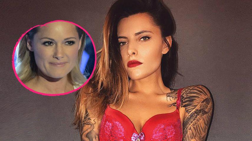 Sophia Thomalla: Bald mit Helene-Fischer-Tattoo unterwegs?