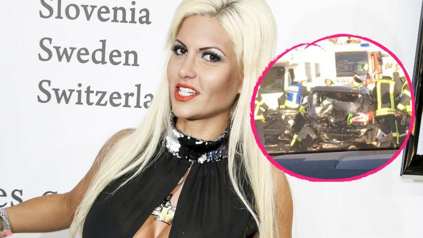 Horror-Crash: Sophia Wollersheim hatte einen Unfall
