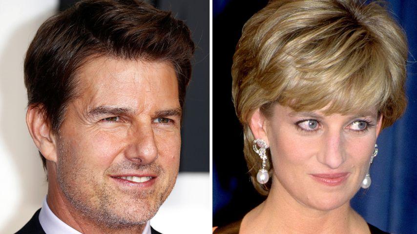 Keine Flirt-Chance: Tom Cruise war Prinzessin Diana zu klein