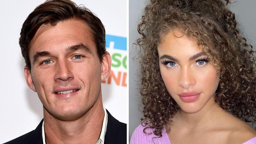 Auf Event: Tyler Cameron posiert innig mit Model-Freundin