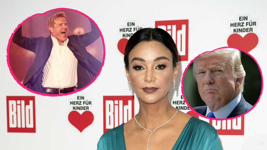 Verona Pooths Männer-Duell: Bohlen schlägt Präsident Trump