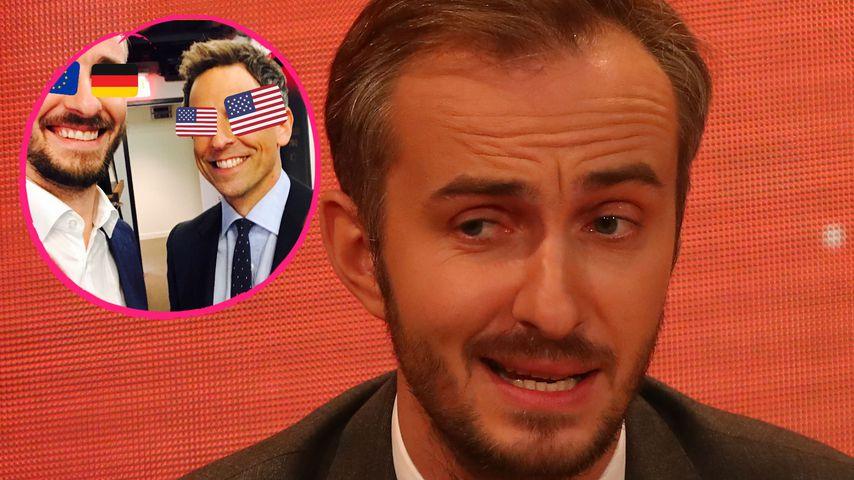 Jan Böhmermann: Mit diesen Gags rockte er eine US-Talkshow!