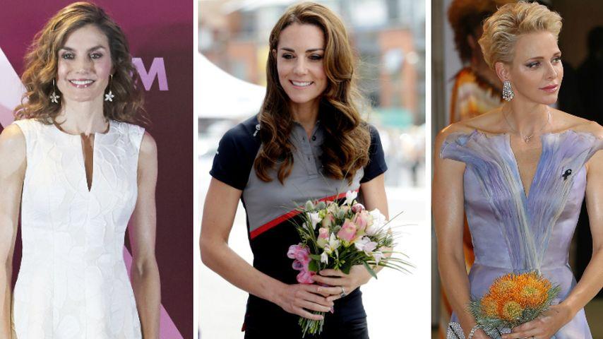 Dürre Royals: Was ist mit Letizia, Kate und Charlene los?