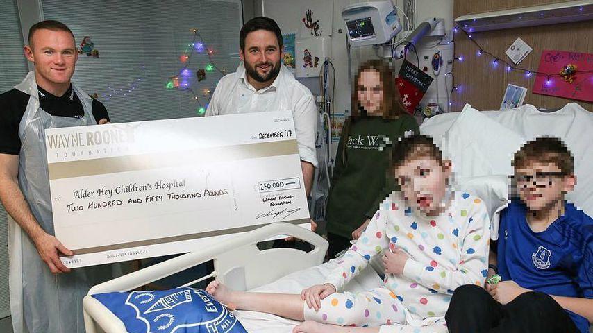 Knüller-Summe: Rooney spendet über 845.000€ an kranke Kids!