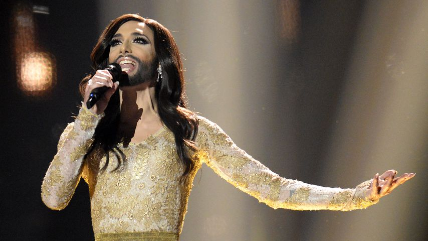 """Conchita Wurst beim """"Eurovision Song Contest"""" 2014"""