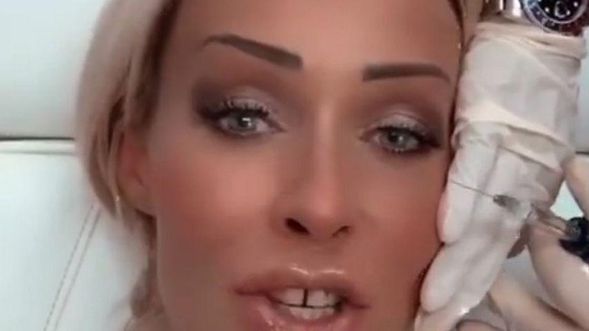 Cora Schumacher beim Beauty-Doc, November 2020