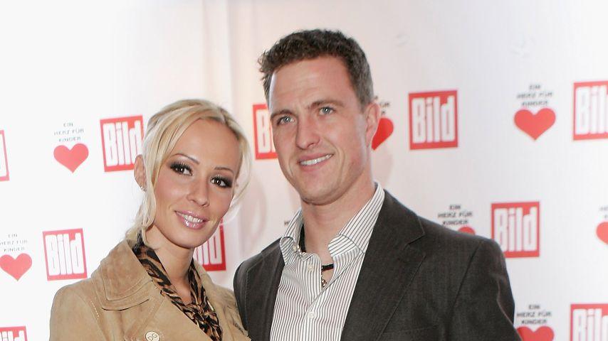 """Cora und Ralf Schumacher bei der Charity Gala """"Ein Herz für Kinder"""", Dezember 2006"""
