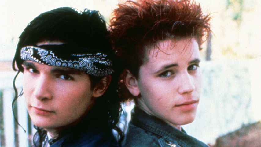 "Corey Feldman und Corey Haim in ""Dream a Little Dream"" 1989"