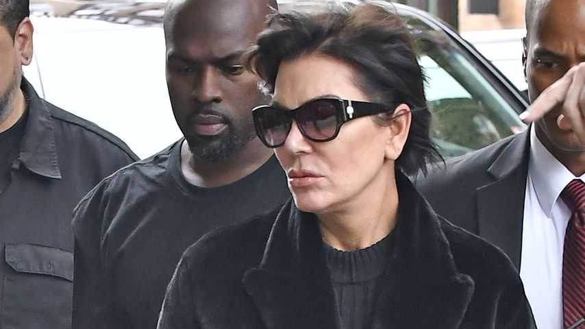 Corey Gamble und Kris Jenner in New York