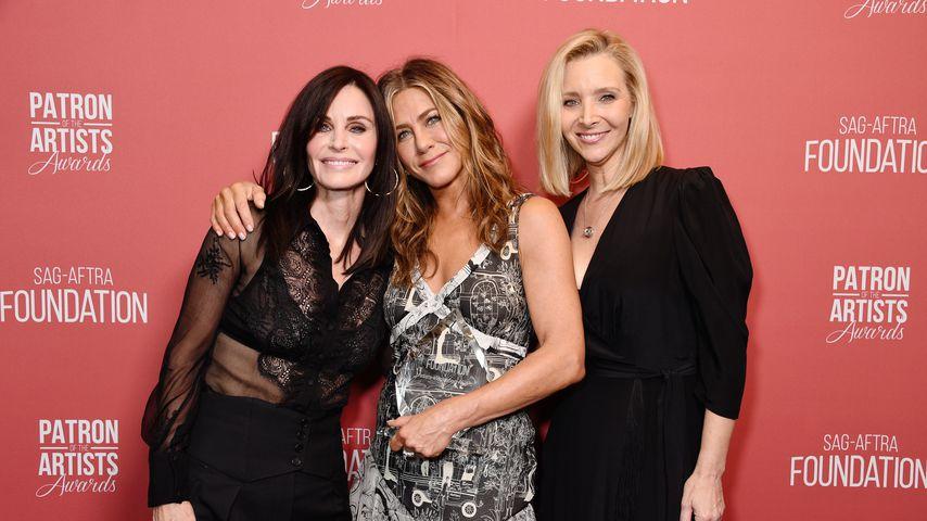 Courteney Cox, Jennifer Aniston und Lisa Kudrow bei den Patron of the Artists Awards