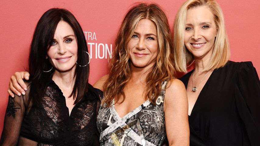 Courteney Cox, Jennifer Aniston und Lisa Kudrow im November 2019