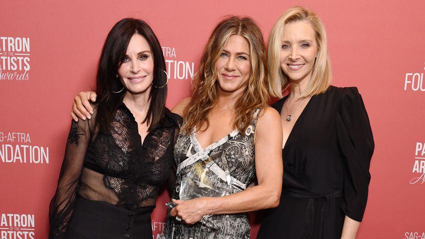 Courteney Cox, Jennifer Aniston und Lisa Kudrow, 2019