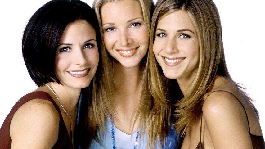 """Friends""-Kollegeinnen Courteney Cox, Lisa Kudrow und Jennifer Aniston"