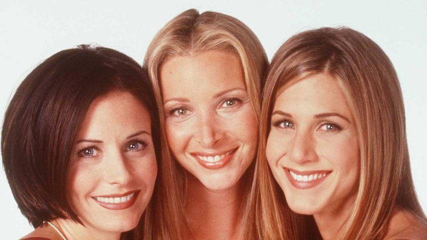 Courteney Cox, Lisa Kudrow und Jennifer Aniston in 1997