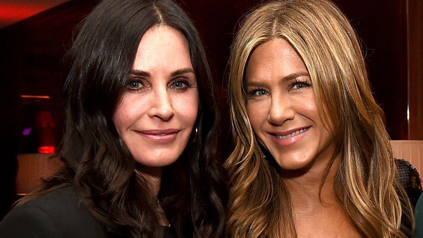 Courteney Cox und Jennifer Aniston
