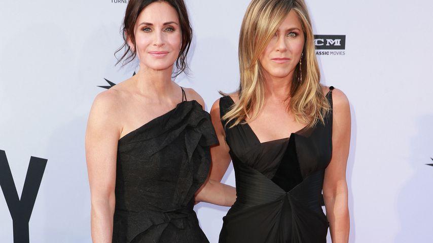 Courteney Cox und Jennifer Aniston, Schauspielkolleginnen