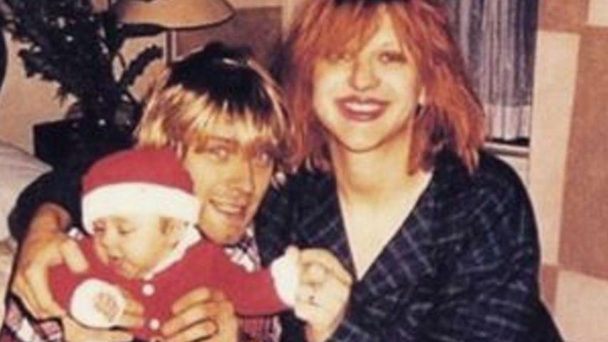 Sentimales X-Mas: Courtney Love gedenkt ihrem Ex Kurt Cobain