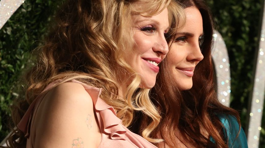 Courtney Love und Lana Del Rey