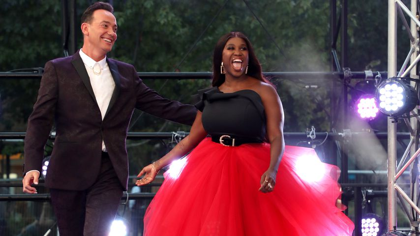 "Craig Revel Horwood und Motsi Mabuse bei ""Strictly Come Dancing"" 2019"